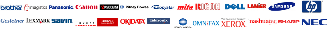 Copier Lease Atlanta supports these brands